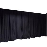 摄影棚黑色遮阳帘 厂房车间多媒体窗帘 实验室投影室宿舍遮光.定制定制 4.