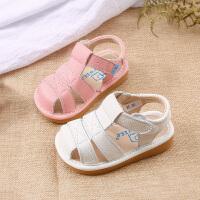 2-3-5岁儿童学步凉鞋软底宝宝鞋真夏季款女童鞋小童鞋子