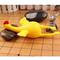 创意玩具恶搞下蛋鸡搞怪发泄鸡钥匙扣挤蛋鸡减压整蛊搞笑下蛋黄 愚人节礼物