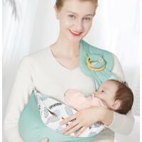 婴儿背巾新生儿初生宝宝背带外出简易多功能前抱式抱娃