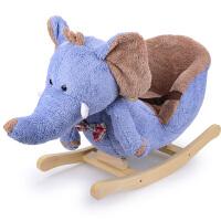 【新品热卖】木质家用摇椅摇摇马摇马摇摇车电动环保摇马车幼儿婴幼儿