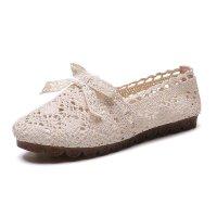 WARORWAR 法国新品YN13-822四季欧美镂空平底舒适女单鞋