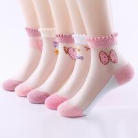 女童袜夏季薄款儿童春夏宝宝袜子公主网眼透气薄袜