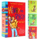 亨利和利博西3册盒装 英文原版 The Henry and Ribsy Box Set 英文版儿童文学 亲爱的汉修先生