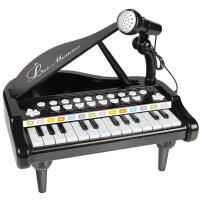 儿童电子琴带麦克风宝宝音乐早教钢琴女孩音乐玩具3-6岁