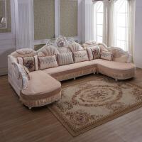 沙发垫欧式夏天u型通用防滑订做定制沙发套罩全包可拆洗全盖定制