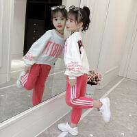 2019春装新款儿童韩版女宝宝春季洋气时髦两件套潮衣童装女童套装