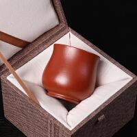 【优选】壶光砂色宜兴紫砂杯功夫主人杯陶瓷品茗小茶杯大红袍禅意杯单个价