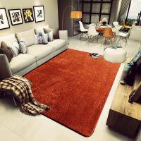茶几垫简约现代北欧风地毯客厅沙发茶几垫卧室纯色满铺床边超柔可水洗