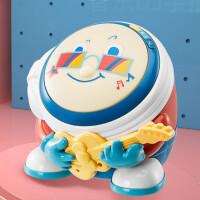 宝宝音乐手拍鼓婴儿玩具6-12个月可充电款0-1岁儿童音乐鼓 KUB可优比-欢乐手拍鼓