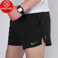 Nike/耐克短裤男新款运动裤跑步健身训练宽松舒适透气休闲五分裤CJ5477-010