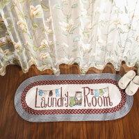 美式洗衣房地垫玄关垫卧室地毯浴室吸水垫阳台厨房脚垫 50x120cm