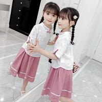 女童�h服夏�b�和�唐�b中���L女孩古�b襦裙�B衣裙