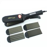 康夫KF480直卷发器两用直发器 玉米须烫蓬松夹板卷发拉直板夹