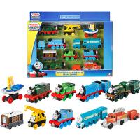 托马斯合金小火车10辆珍藏礼盒装可搭配合金轨道儿童玩具*