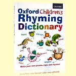 牛津儿童英语韵律字典Oxford Children's Rhyming Dictionary 英文原版辞典 6岁以上