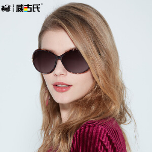 威古氏 新款时尚大框偏光 太阳镜 女士驾驶太阳眼镜 9021