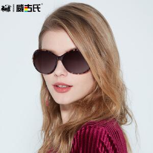 威古氏 新款时尚大框偏光 个性网红太阳镜 女士驾驶太阳眼镜