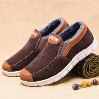 男士棉鞋老北京布鞋男高帮加绒保暖男鞋舒适中老年爸爸鞋