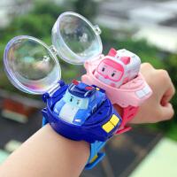 汽车手表玩具电动儿童迷你赛车男孩遥控车小汽车手表