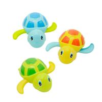 宝宝洗澡玩具会游泳的小乌龟男女婴儿上链发条玩具 1个戏水乌龟