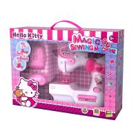 HelloKitty儿童编织机缝纫机玩具迷你女孩过家家玩具电动手工制作家用DIY生日礼物 儿童迷你缝纫机-8502