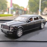 创意劳斯莱斯车模型车载中控台装饰车内饰品汽车摆件车用品香水座