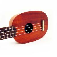 (限量版)D&D ukulele  21寸 S型 乌克丽丽 尤克里里 pineapple型 可爱菠萝型 DP-S2 *品:背包+弦+拨片+入门教材