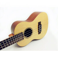 支持货到付款-Rockman 24寸 专业乌克丽丽 ukulele 尤克里里 成人小四弦 云衫木面板 沙比利背侧板 初