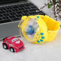 手表汽车男孩玩具电动遥控车手表小汽车儿童迷你赛车 赠送原装电池+螺丝刀