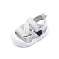 婴幼儿软底学步鞋女宝宝凉鞋1-3岁宝宝凉鞋软底鞋男小童网面透气凉鞋