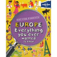 Not For Parents Europe 《孤独的星球:儿童畅游欧洲》ISBN 9781743219133