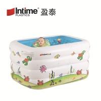 2018新款 宝宝加厚游泳池 婴儿折叠充气洗澡盆 swim pool