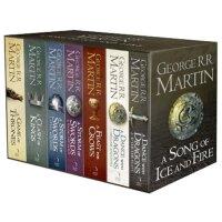 冰与火之歌全集 英文原版小说 权力的游戏 英文版 英文原版书 A Song of Ice and Fire正版全套1-5(7本)套装A Game of Thrones