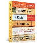 顺丰发货 How to Read a Book 如何阅读一本书 The Classic Guide to Intell