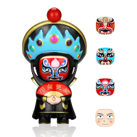 川剧变脸娃娃玩具偶四川成都特产中国风特色礼品送老外小礼物纪念 福禄寿喜