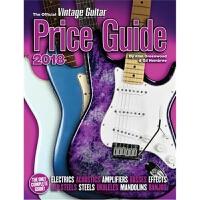 预订The Official Vintage Guitar Magazine Price Guide - 2018