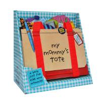 英文原版儿童3D立体书 Workman My Mommy s Tote 我妈妈的手提包/皮包绘本 立体造型操作书 儿童