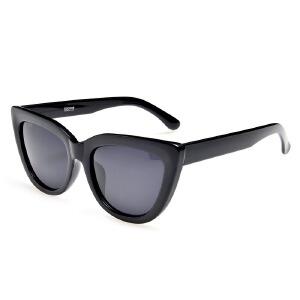 威古氏太阳镜女款防紫外线偏光镜复古猫眼女士墨镜 9041