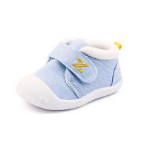 0-1岁男女婴儿宝宝夏季单鞋春秋季棉布鞋子学步鞋6-12个月宝宝软底鞋
