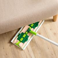 360度旋转平板拖把地板免手洗毛巾拖布 家用夹固式木地板瓷砖地拖