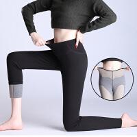 冬季加绒加厚三层特厚保暖女裤女护膝护腰外穿显瘦打底裤棉裤