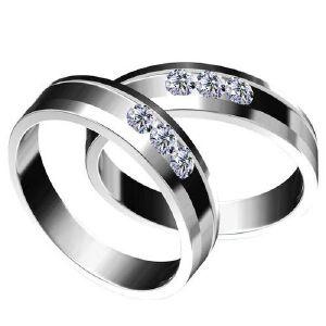 梦克拉  缘定三生 钻石对戒 情侣戒 18K金戒指 求婚戒女戒 可礼品卡购买