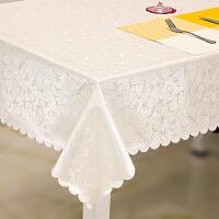欧式餐桌布免洗长方形茶几布 酒店圆桌布方台布定制