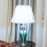 欧式新古典冰裂纹陶瓷装饰摆件花瓶高档别墅样板间客厅玄关工艺品花瓶台灯摆件冰裂系列