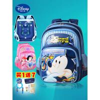 迪士尼小学生书包男童女童1-3-6年级米奇公主双肩包儿童背包男孩