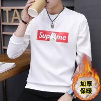 男士长袖T恤韩版秋季打底衫青少年加绒冬装秋衣服男卫衣秋衣外穿