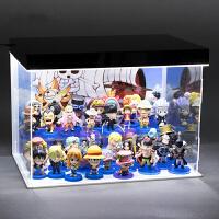 动漫海贼王手办公仔人偶模型路飞玩偶摆件全套礼物周边二次元 +普通灯 礼盒装