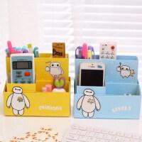 UMI韩国创意DIY办公用品笔筒 纸质化妆品杂物整理盒 桌面收纳盒