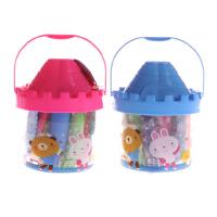 智高 3D彩泥/水果模具工具12色橡皮泥套装/储蓄罐城堡桶